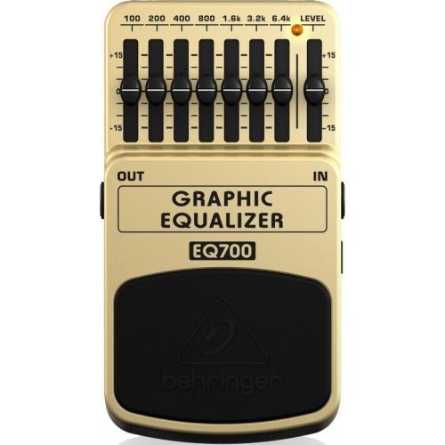 BEHRINGER EQ700 7-Bant Grafik Ekolayzer Pedal
